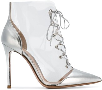 Gianvito Rossi lace-up ankle boots