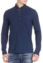 Polo Ralph Lauren Buttoned Long Sleeve T-Shirt