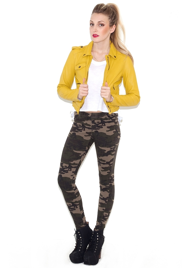 Camo Captain Military Jegging