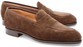Brooks Brothers Edward Green Piccadilly Suede Loafers