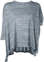 Enfold loose asymmetric top - women - Cotton/Glass Fiber - 38