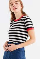 Truly Madly Deeply Striped Ringer Tee