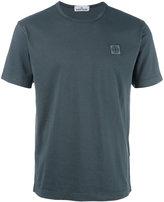 Stone Island logo patch T-shirt - men - Cotton - M