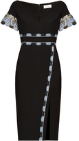 Peter Pilotto Lace-trim cady dress