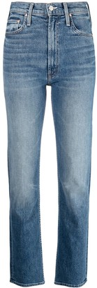 Mother Rider straight-leg jeans