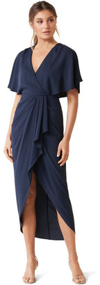 Forever New Jasmine Batwing Wrap Midi Dress