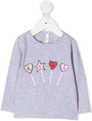 Billieblush Girl long sleeved T-shirt