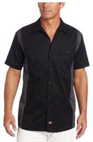 Dickies Men's Short Sleeve Two-Tone Work Shirt