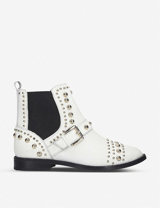 Kurt Geiger Mini Stinger leather Chelsea boots 7-10 years