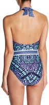 Red Carter Halter One Piece
