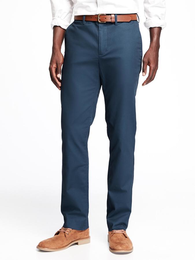 Old Navy Slim Signature Built-In Flex Non-Iron Pants for Men