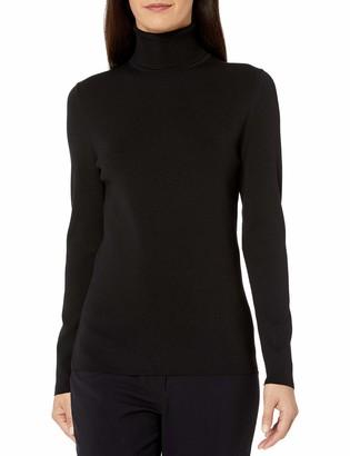 Anne Klein Women's Long Sleeve Turtleneck Sweater