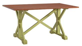 Millwood Pines Ahlers Farmhouse Dining Table Millwood Pines