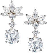 FANTASIA Marquise Crystal-Cluster Drop Earrings, Clear