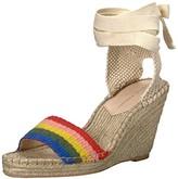 Loeffler Randall Women's Miranda (Artisan StripeWebbing) Wedge Sandal