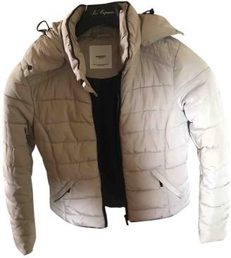 MANGO Beige Coat for Women