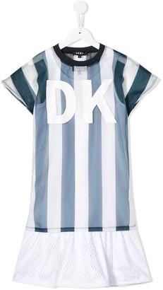 DKNY Layered Logo Dress