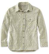 L.L. Bean Boys' Cool Weave Shirt Plaid