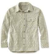 L.L. Bean Cool Weave Shirt Plaid Boys'