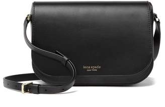 Kate Spade Nadine Medium Flap Leather Crossbody Bag