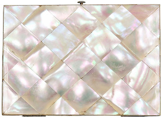 One Kings Lane Vintage Antique Pearl Business Card Case - THE QUEENS LANDING