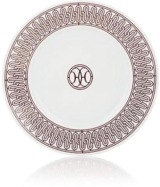 Hermes H Déco Dessert Plate No. 1 - Red