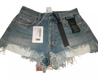 Unravel Project Other Cotton Shorts
