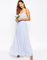 Asos Wedding Multiway Mesh Maxi Dress