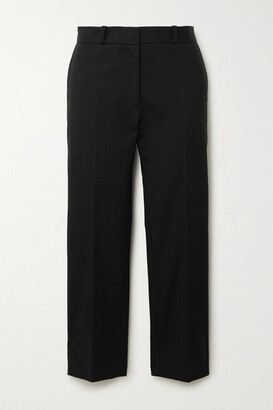 Joseph Bing Cropped Cotton-blend Twill Straight-leg Pants