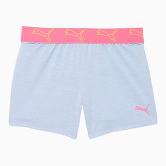 Puma Stay Bold Girls' Space Dyed Jacquard Waistband Shorts JR