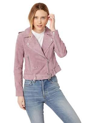 Blank NYC [Blanknyc] [BLANKNYC] Women's Suede Moto Jacket Outerwear