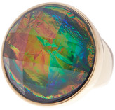 Trina Turk Faceted Stone Cocktail Ring - Size 7