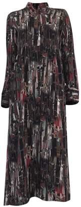 Hanout Boutique Delphine Cotton Dress Multicolour Print
