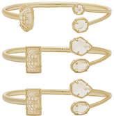 Kendra Scott Cammy Pinch Bracelet Set of 3