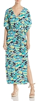 Leota Rosie Fern Print Maxi Dress