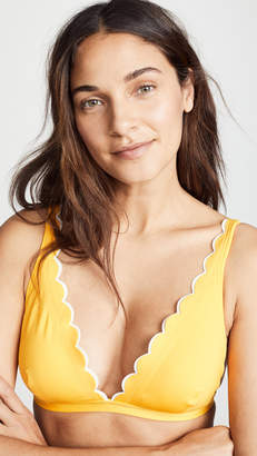 Kate Spade Fort Tilden French Bikini Top