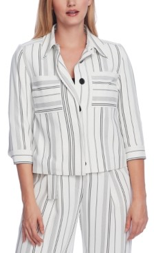 Vince Camuto Striped Blazer