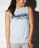 Reebok Cotton Seaworn Logo Tank Top
