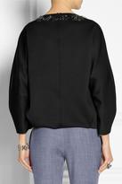 ADAM by Adam Lippes Embellished scuba-jersey sweatshirt