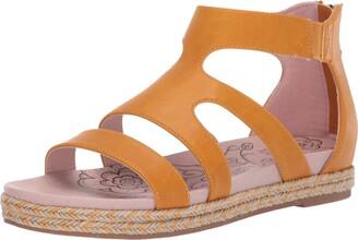 Mootsies Tootsies Women's Kami Sandal Orange 9 Medium US