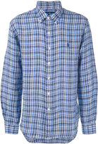 Polo Ralph Lauren checked shirt - men - Linen/Flax - S
