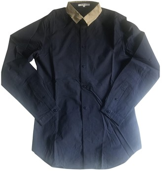 Carven Navy Cotton Shirts