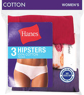 Hanes Women's Cotton Hipsters (9 Pairs)