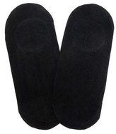 Peds Women's 2 Pack Ultra Low Liner With Pad Socks