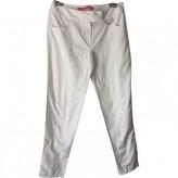 Ungaro White Cotton Trousers for Women