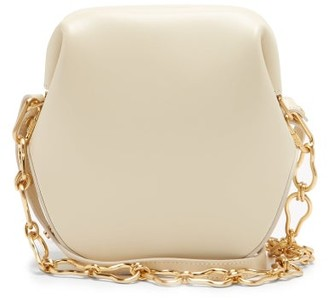 Osoi - Toast Brot Two-strap Leather Shoulder Bag - Cream