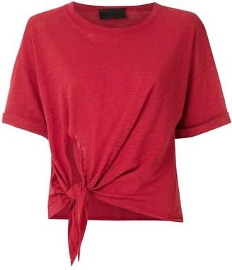 Andrea Bogosian Richard tie-waist cotton T-shirt