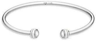 Piaget Possession 18K White Gold Open Bangle Bracelet