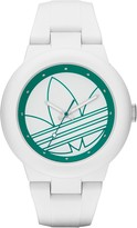 adidas Arberdeen Analogue Watch in White & Green