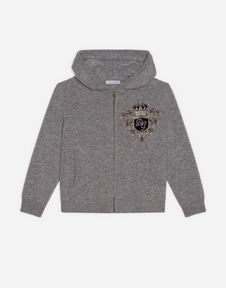 Dolce & Gabbana Cashmere Sweater With Zipper